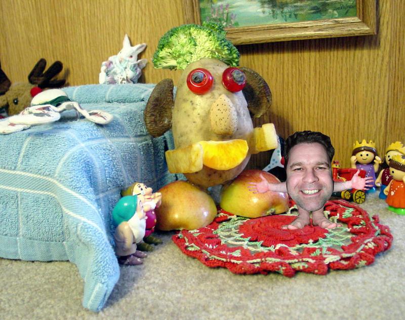 Life in the Potatohead Household