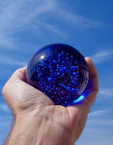 Big Blue Marble  by pablo