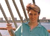 On the Queen Mary, around 1986. You can see my tail..a child of the 80's I twas