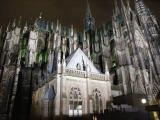 Cathedral (Dom) at night - awesome!