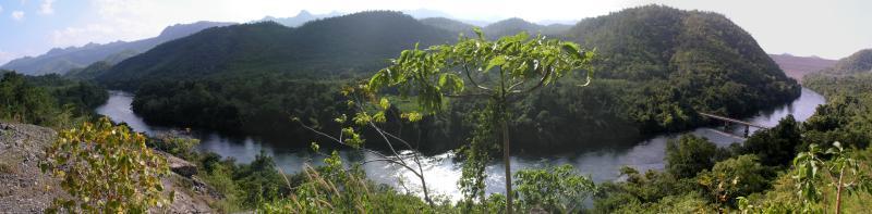 Srinakarin Dam Wall