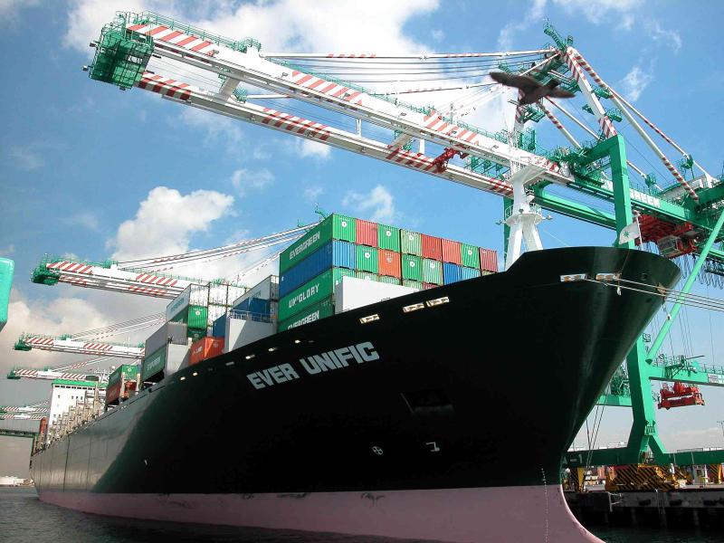 Cargo ship,  San Pedro Harbor