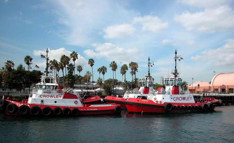 Tug boat fleet - San Pedro