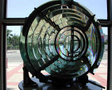 Lighthouse lens - Los Angeles Maritime Museum, San Pedro - cp990