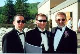 Ken, Mitch & Al at Mitch's wedding