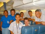 AQ Daytime Cleaners on board A/C 738