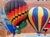 Red Rock Balloon Festival, New Mexico