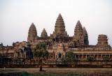 Angkor Wat from across the moat.