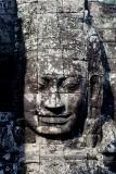 One of the heads from The Bayon. My favorite of the Angkor temples.