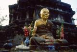 Offering at Wat Koo Tao.