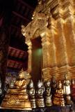 Inside the wat at Lampang.