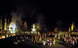 Loi Krathong in Sukhothai.