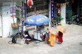 Monks in Phnom Penh.