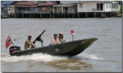 River security - Chao Praya River, Bangkok
