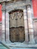 Door of former mansion of Canal family
