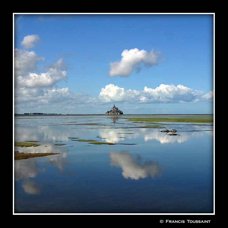 Mt  St  Michel Bay