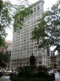 Flat Iron Building at 23rd & Broadway