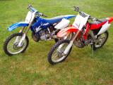 CR250R and YZ250