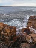 Seawall rocks by Richard B