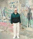 Bob Searl - At remains of the Berlin Wall June 2004