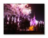 Cinderella's Castle & FireworksMagic Kingdom