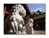 Lions at the China PavilionEpcot