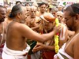 HH honoured with Sri Parthasarathi perumal thirumalai