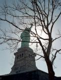 Liberty and sun