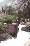 Gorge in Goddard Canyon