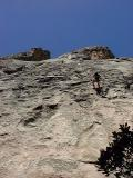 Rappelling from Mule Train, Fresno Dome