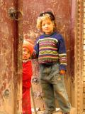 Village kids near Kashgar