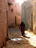 Woman in streets