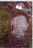 Shmuel Zanvil son of Tzvi  KRIEGER died Av 13(August)