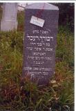 Dvora (Deborah) Rochel daughter of R' Tvzi haLevi wife of R' Isser Yitzchak ROTHMAN Died 18 Nisan 5633(15 April 1873)