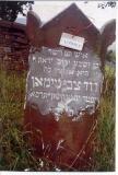 Ish tam ve yashar (Tasteful/proper and honest man)  David Tsvi NEIMAN  Died: Yud Hay (15) or Yud Khet (18),  מרחשוון Marheshvan, תרסא Taf Resh Samekh Aleph (6 (4+2) 61 = 5661 = 1900