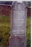 Pessel daughter of Shlomo GOLDHAMMER wife of R' Moshe MOSKOWITZ (death) March 21, 1902