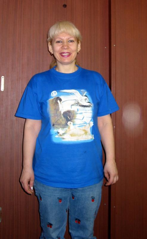 Portrait of Valentina on the