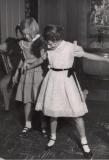 Mom cuttin' a rug with cousin Kathy