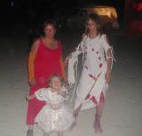 3 Generations. Marquetta, Anja, and Azara
