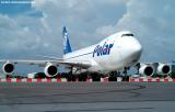 Polar Air Cargo B747-46NF/SCD N452PA Polar Spirit aviation stock photo