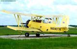Abel A. Hera's Grumman-Schweizer G-164B crop duster N6907K aviation stock photo