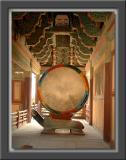 Prayer Drum w/Turtle Pedestal