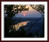 ...à l 'heure du coucher de soleil