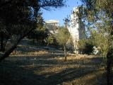 Parthenon early evening