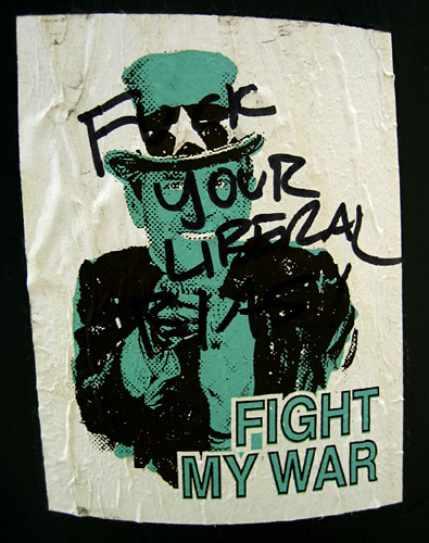 Fight My War / <br>F..k your liberal bias<br>7410