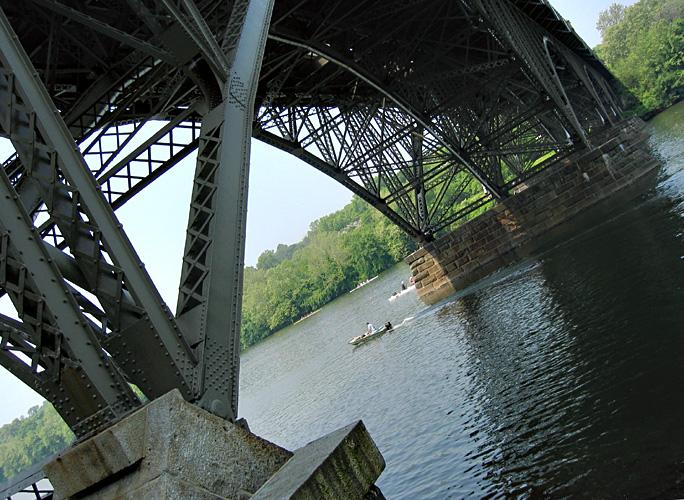 Strawberry Mansion Bridge over the Schuylkill River<br>7181