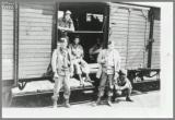 40 X 8 Boxcar, Germany to LeHavre, France