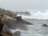 First winter storm swells