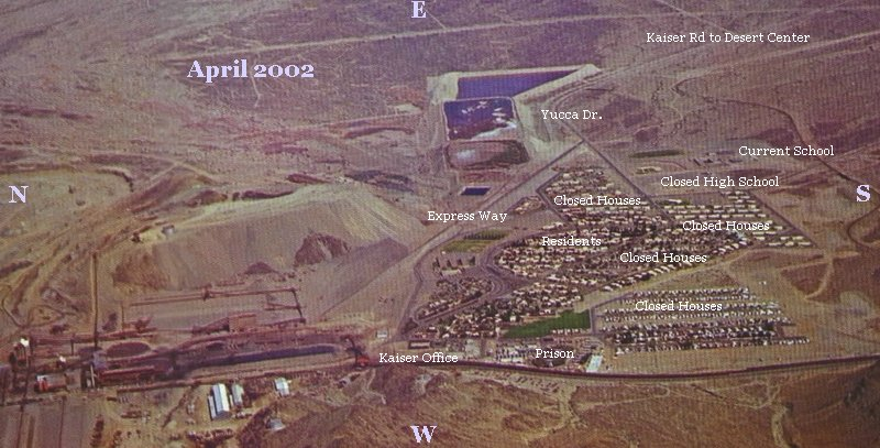 Lay out as of April 2002