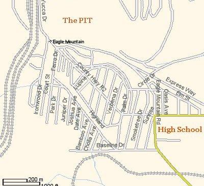 Street map. Yahoo 2002